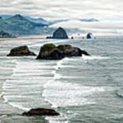 Ocean Rocks Off The Oregon Coast Art Print