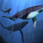 Ocean Ruins Art Print