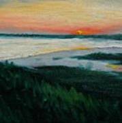 Ocean Sunset No.1 Art Print