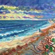 Ocean View at Jupiter Art Print