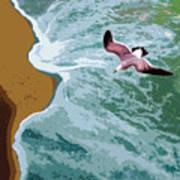 Ocean Waves - Two Art Print