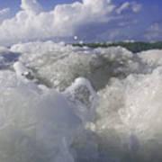 Ocean Waves Comin' At You Art Print