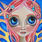 Oceanic Fairy Art Print