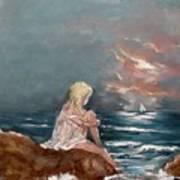 Oceanic Relaxation Art Print