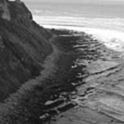 Oceans Edge Art Print