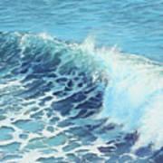 Ocean's Might Art Print