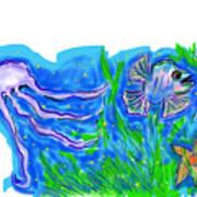 Oceans Wonders  Art Print