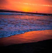 Oceanside Sunset Art Print