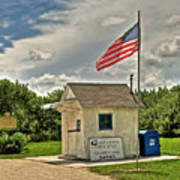 Ochopee Florida Post Office  Art Print