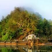 Ocoee Dam 2 Art Print