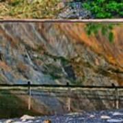 Ocoee Dam Reflection Art Print