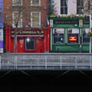 Oconnells Pub And The Batchelor Inn - Dublin Ireland Art Print