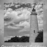 Ocracoke Island Lighthouse Poster Art Print