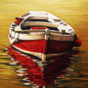 Ocre S Sea Art Print