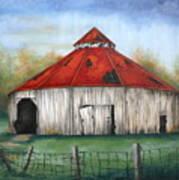 Octagen Barn Art Print