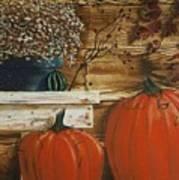 October Decor Art Print
