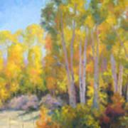 October Delight Art Print