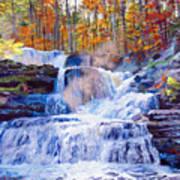 October Falls Art Print