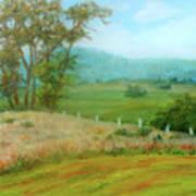 October Hills In Middletown Md Art Print