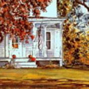 October House  Art Print