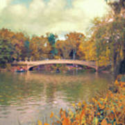 October In Central Park Art Print