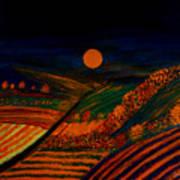 October Night Art Print