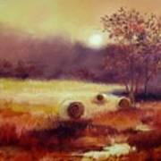 October Pasture Art Print
