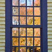 October Reflections 1 Art Print