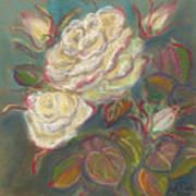 October Rose Art Print