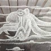 Octupus Art Print