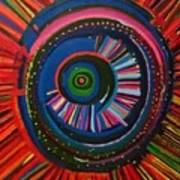 Ocular Energy Path Art Print