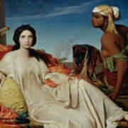 Odalisque Art Print by Francois Leon Benouville
