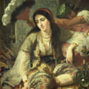 Odalisque Print by Jean Baptiste Ange Tissier