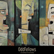 Odd Fellows Triptych Art Print