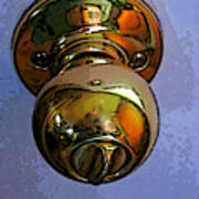 Ode To A Doorknob Art Print