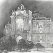 Odessa Theater  Art Print