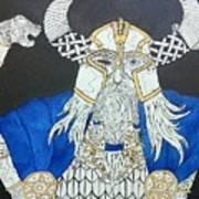 Odin Watching Art Print