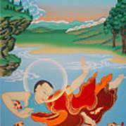 Odren Pelgi Wangchuk Art Print
