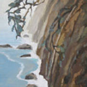 Off Big Sur Art Print
