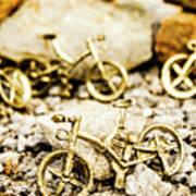 Off Road Bike Trinkets Art Print