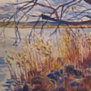 Off The Piermont Pier Art Print