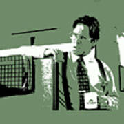 Office Space Bill Lumbergh Movie Quote Poster Series 002 Art Print
