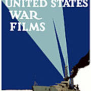 Official United States War Films Art Print by War Is Hell Store