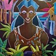 Ofrendas De Mi Tierra II Art Print