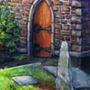 Ogham Stone Art Print