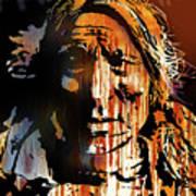 Oglala Warrior Art Print