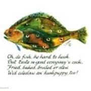 Oh De Fish Art Print