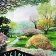 Ohio Garden Art Print