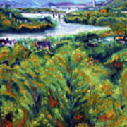Ohio River From Ayers-limestone Road Art Print