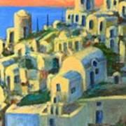 Oia. Santorini Art Print